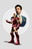 Stark / Iron Man by Duntiwan
