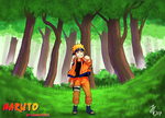Naruto in Konoha by hannie001