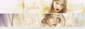 Clemence Poesy Banners by Hanen-Madi