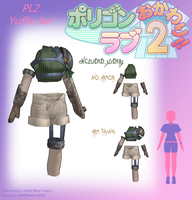 PL2 Yuffie Set -DL by MMDFakewings18