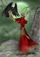 The Raven and The Red Death by Selene-Eclipse
