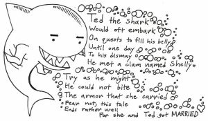 Ted the Shark (visual) by Passer-in-the-Storm