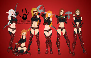 Dark Sisterhood Red by Cinn-Ransome