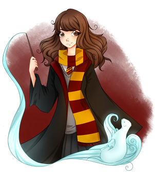~Expecto Patronum~ by Ghost-Echo