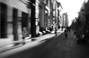 Lensbaby. Moscow view. Today. by AndyGS
