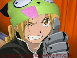 Ed in a gir hat by daushond