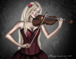 Violinist by ElleChups