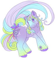 My little pony - PassionFlower by TehButterCookie