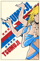 Tsumuji cover page by indy-riquez
