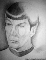 Spock in the shadows by Safirah