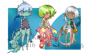Aciru Adoptables (Closed) by Kiraka16