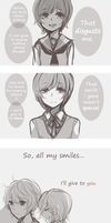 G0: Meaning Behind a Smile by niaro