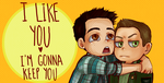 Teen wolf - I'm gonna keep ya by Bisho-s