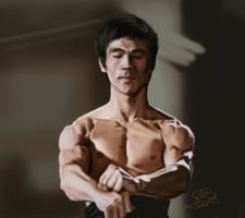bruce lee by CrazyScarlet