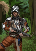 Crossbowman Study by PlainBen
