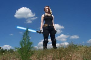 Mara Jade Skywalker cosplay by JAMcosplay