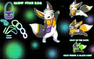 Updated Eevee party Ref by VengefulSpirits