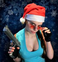 Merry Xmas from Lara Croft by DayanaCroft