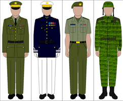 Uniforms of the Royal Hawaiian Army by kyuzoaoi