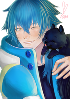 DMMD: Aoba and Ren by hammie-d