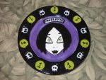 Zombie Girl Plate 01 Front by Gummibearboy