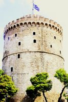the white tower/beyaz kule by turkersoydas