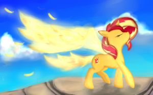 Sunset Shimmer My Past is Not Today by Namiko-The-Cat