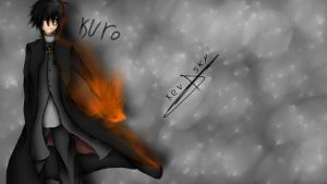 Kuro's new design(with video on YT) by xXKevSkyDrawsXx