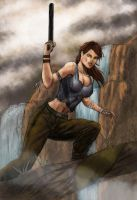 tomb raider reborn by drklegion