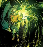 GREEN LANTERN -Alan Scott by DeclanShalvey