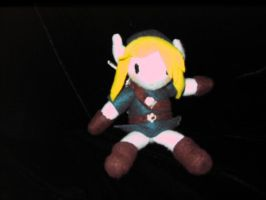 Link chibi Plushie Front by AngelicDragonElf