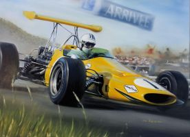 Denny Hulme - M7A by donpackwood