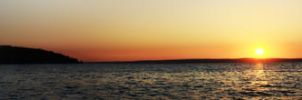 Sunset Panoramic by AaronQuinn