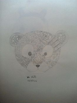 Zentangle Tiger by Dance4life628