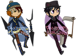 Possibly Violent Adopts (1/2 Open) by fandopts