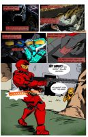 Red Vs. Blue-Sarge by hoodxred