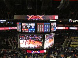 2014-15 Scoreboard Readout at US Airways Center by BigMac1212