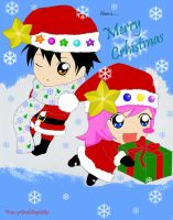 Have a cute Christmas by xxDevilsAngel28xx