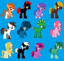 Filly And Colt Adopts Batch 1 (OPEN) by Nikki148