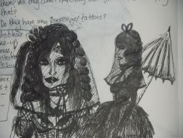 Gothic Brides two by FoolsGolde