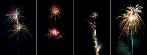 4th of July Fireworks Stock 2 by AreteStock