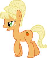 No Sonic Rainboom - Applejack by TheAirgonaut