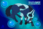 Ice wolves - Fallonx by LunnaHowell