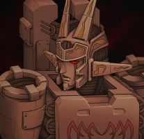 Young Megatron 3 by J-666