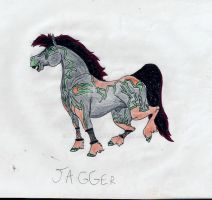 OOOLLLD oc jagger by BlackMare234