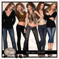 Poser Sample Pack Six by ZaZaScrapAndTubes