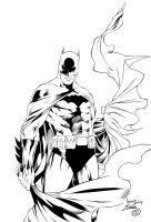 The Batman Ink#1 by SWAVE18