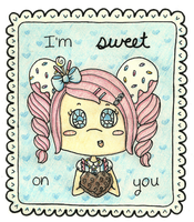 I'm Sweet on You! by Cupcake-Kitty-chan