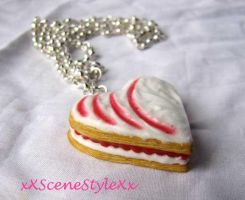 Puff Pastry Heart by xXSceneStyleXx