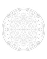 50 2015 Meditation Mandala by bcre80v